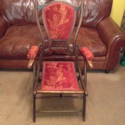 Edwardian Campaign chair