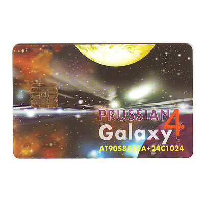 GALAXY 4 SMART CARD AT90S8515A & 24C1024 EEPROM, NEW Blank