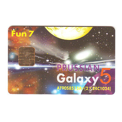 GALAXY 5 SMART CARD AT90S8515A & (2 x 24C1024) EEPROM, NEW Blank