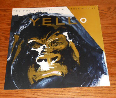 Yello You Gotta Say Yes to Another Excess Poster Flat Promo 12x12 (gorilla)