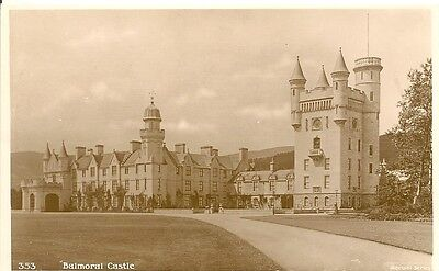 BALMORAL Castle  Real Photo  PC