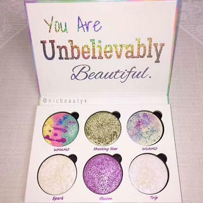 NEW! Unicorn Mermaid Glitter Eye Shadow Lidschatten Palette Einhorn
