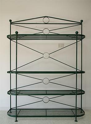 Large Antique Victorian Wrought Iron Bakers Stand Ca 1890 In Superior Condition