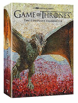 Game of Thrones: The Complete 1-6 Seasons 1 2 3 4 5 6 New ,2016 30 DVD Box Set