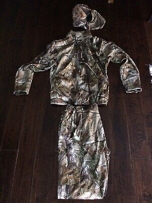 Scent Lok Realtree AP hunting Suit and Cap XL jacket and pants