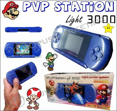 Console Portatile Pvp Station Light 3000 Scacciapensieri Video Game Boy E Girl