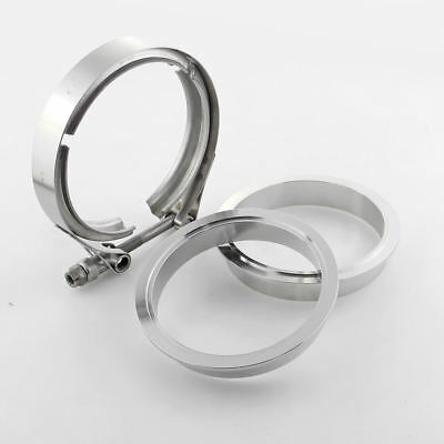 4 inch 304 Stainless Steel V-band Clamp Male Female Flanges Kit