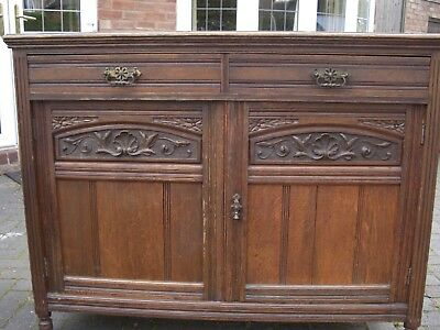 Edwardian sideboard c1905 Antique Carvings