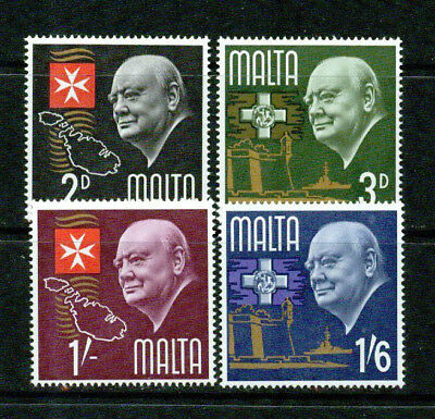 Malta – 1966 – Churchill – Vf  **
