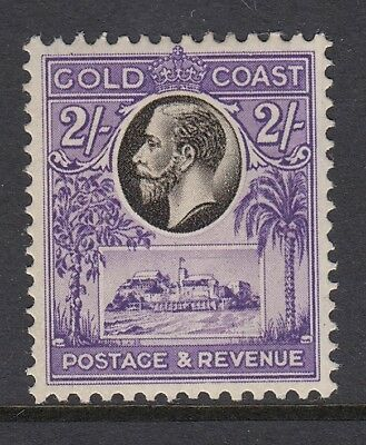 Gold Coast 1928 black/violet 2/- SG111 - Mounted mint