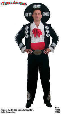The Three Amigos Deluxe Costume Adult Standard