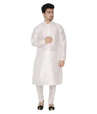 Bollywood Indian New Men's Kurta Pajama Ethnic Wear Casual Traditional Dress