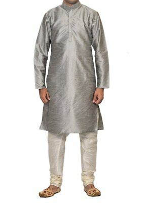 Casual Wear Ethnic Bollywood Indian New Men's Kurta Pajama Traditional Eid Dress