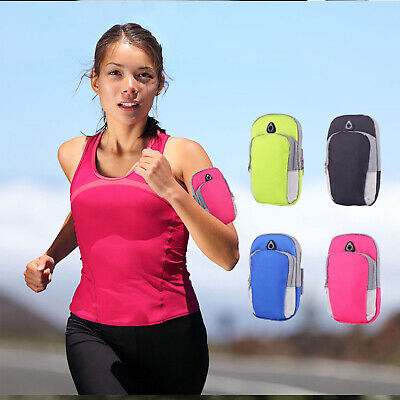 Universal Jogging Running GYM Sport Armband Holder Arm Strap Pouch Case