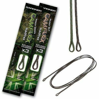 Gardner Tackle Ready Tied Camflex Leadfree Leaders