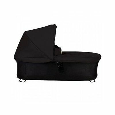 Mountain Buggy Carrycot Plus with 3 Seat Modes for 2015 Swift and Mb Mini Black