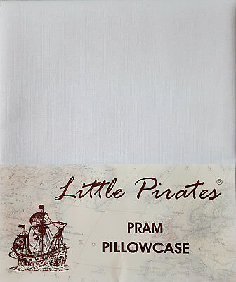BRAND NEW BABY PRAM/COTBED PILLOWCASE 100% COTTON 30x35 cm