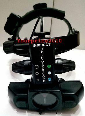Rechargeable Indirect Ophthalmoscope With Accessories Optometry  Ophthalmoscopes