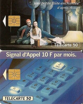 France Telecom Phonecards Telecartes : 50 units unites, one apres Mozart