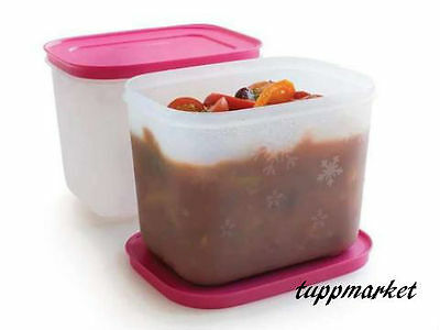 Tupperware Containers Freezer 2 X 1.1L Special Offer