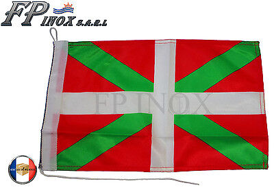 Pavillon Basque ( Drapeau ) 47x29cm