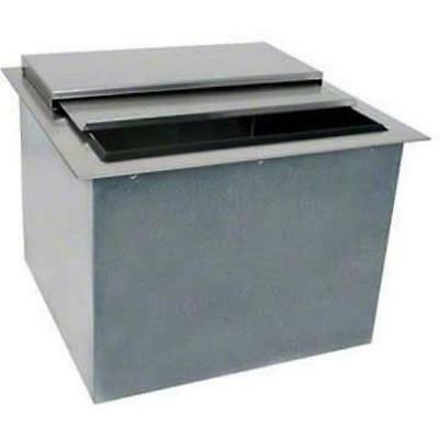 """Glastender Commercial 18"""" Drop-In Ice Bin Di-Ib18 With Lid"""