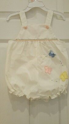 vintage baby girl sunsuit MINT CONDITION 24 mos