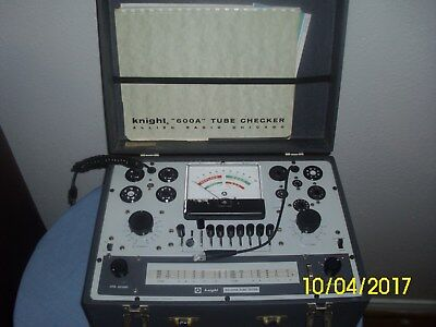 Knight 600A Tube tester