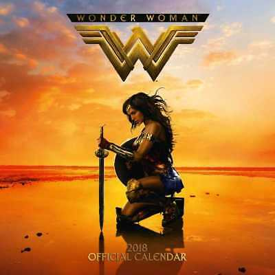 Wonder Woman Official 2018 Square Wall Calendar Calender Diana Princess Amazons