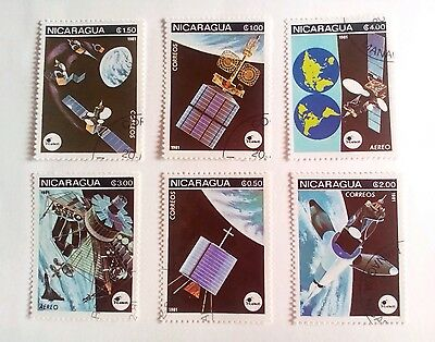 Nicaragua Stamps - 1981- space