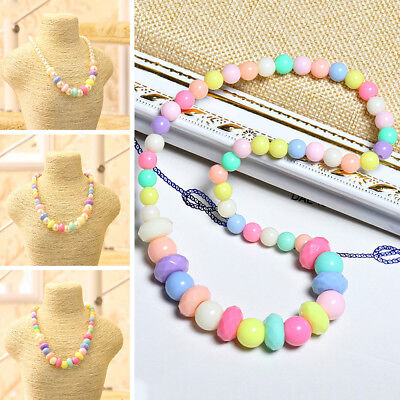 Girls Imitation Pearls Hot Necklace Jewelry Toddlers Children Gorgeous Baby