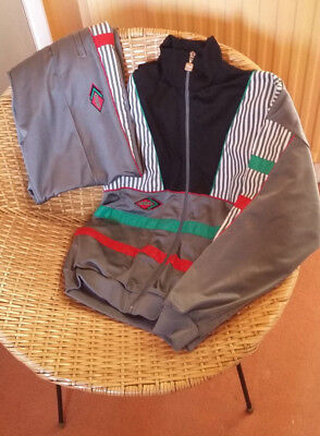 Vintage 1980s 1990s UMBRO Tracksuit SMALL 80s casual