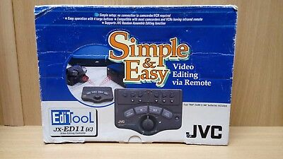 JVC Video Editing Controller JX-ED11(E),camcorders,vcr (old53714)
