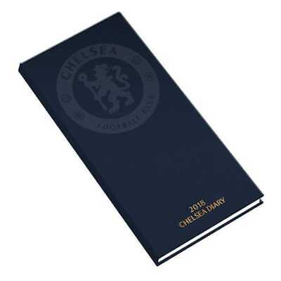 Chelsea Football Club FC Official 2018 Diary Week to View Slim Pocket Format CFC
