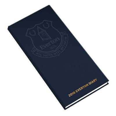 Everton Football Club FC Official 2018 Diary Week to View Slim Pocket Format EFC