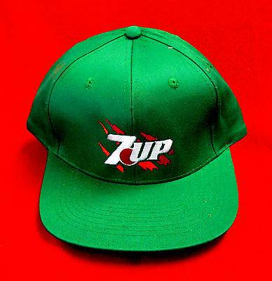 7-Up Cap Hat 100% Cotton Snap Back New Old Stock wboc
