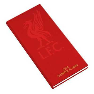 Liverpool Football Club Official 2018 Diary Week to View Slim Pocket Format LFC