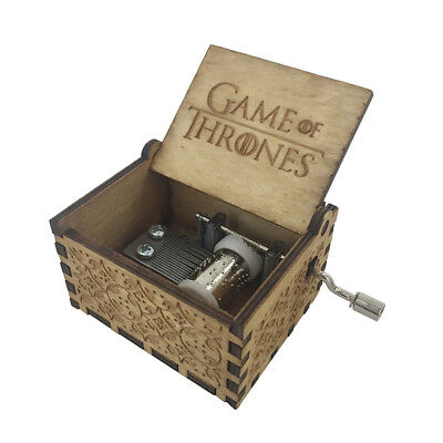 Game Of Thrones New Wooden Music Box_ FREE SHIPPING