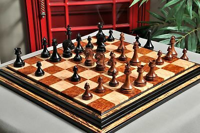 "The Avant Garde Series Luxury Chess Set - Pieces Only - 4.4"" King -Genuine Ebony"