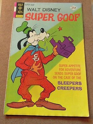 1975 June - 25¢ Walt Disney SUPER GOOF - Vintage Comic Book # 34