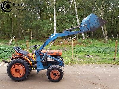 Kubota B6000D Compact Tractor 4WD  with Front Loader & Manure Fork