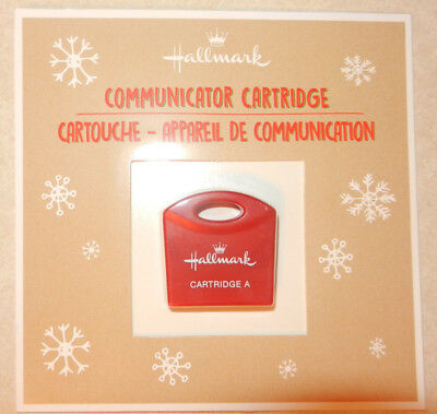2017 Hallmark Northpole Communicator Refill Cartridge New Sealed Free Shipping