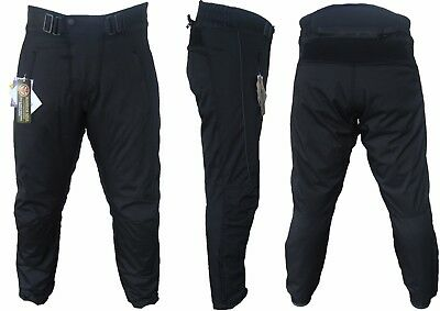 New Motorcycle Motorbike Waterproof Ce Armour Quilted Hivis Motorcycle Trousers