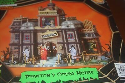 Lemax Spooky Town Collection Opera House Du Fantome  NIB