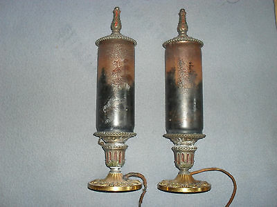 VINTAGE 1920s? 30s PAIR OF LAMPS