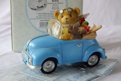 Cherished Teddies Robin - Life Keeps US on The Move 114102 excellent condition