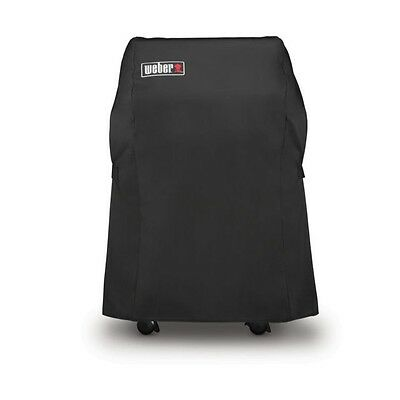 For New Weber 7105 Grill Cover 210 Series Spirit Gas Grills BBQ Premium Black