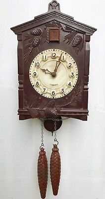 Russian Cuckoo Clock Spares Or Repair