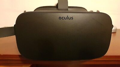 Oculus Rift VR Headset Cv1 with Oculus Touch controllers.