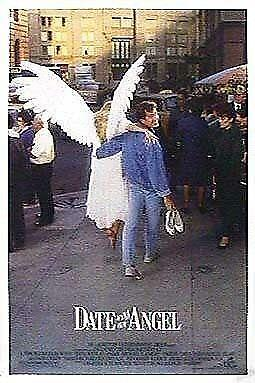 """DATE WITH AN ANGEL 27""""x41"""" Original Movie Poster One Sheet ROLLED 1987 Rare"""